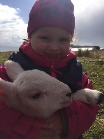 Aila with lamb