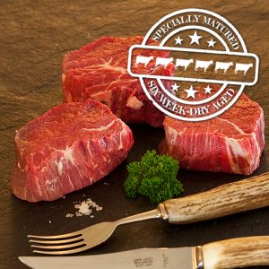 6 Week Hung Fillet Steak