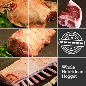 Whole Hebridean Hogget