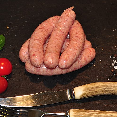 Beef & Spicy Garlic Sausages