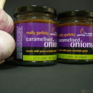 Really Garlicky Caramelised Onions