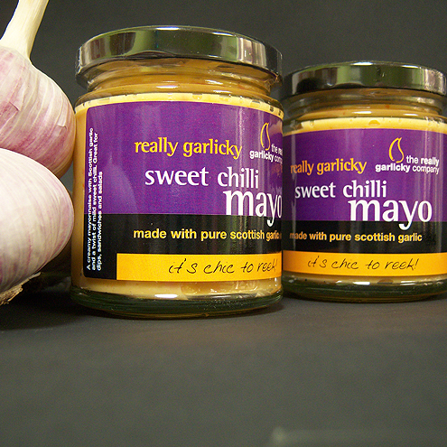Really Garlicky Sweet Chilli Mayo