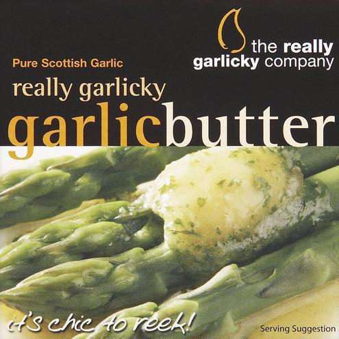 Really Garlicky Butter