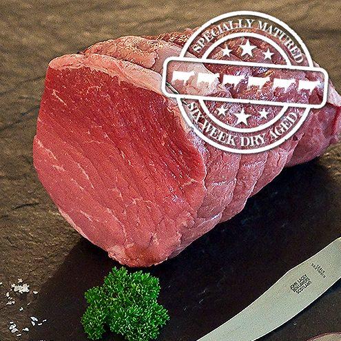 6 week hung beef