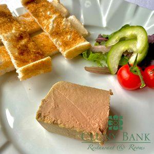 Chicken Liver and Fois Gras Parfait