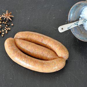 moroccan lamb sausage